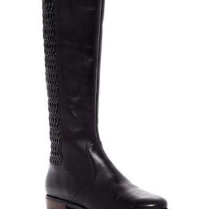 Cole Haan 'Elverton' Knee High Boot Black Leather